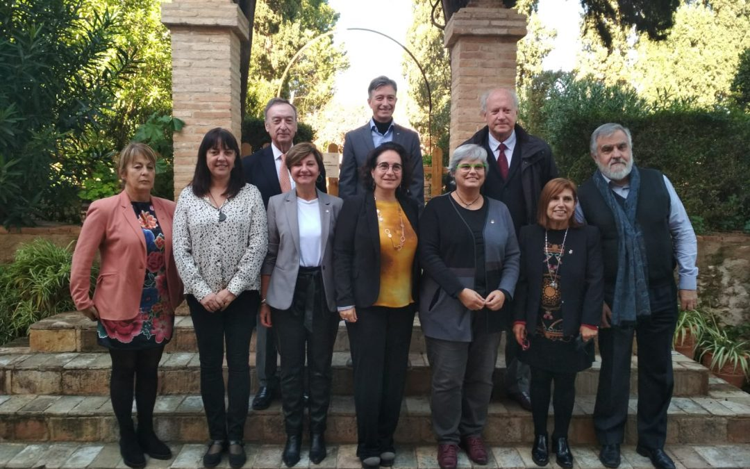 The Garraf presents to the ERDF the second project to promote active and healthy aging, through technological innovation