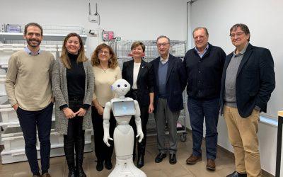 Abigail Garrido, visita las instalaciones del Instituto